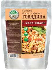 Туристическая еда Кронидов (Макароны с говядиной)
