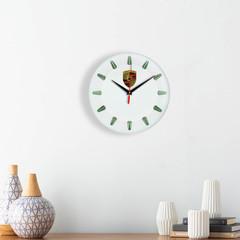 Настенные часы с эмблемой Porsche 5 07