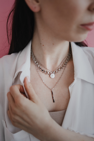 Колье OLIVIA silver