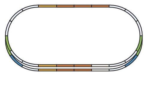 A-Gleis Рельсовый набор: Расширение - E