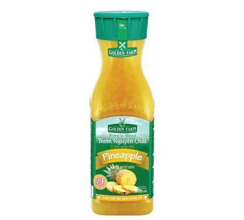 Вьетнамский сироп (варенье) Ананас, из давленых фруктов, Golden Farm, 0,5 л