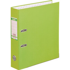 Папка-регистратор Bantex Economy Plus 80 мм салатовая