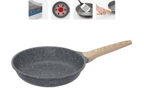 Сковорода с антипригарным покрытием Mineralica, 24 см NADOBA
