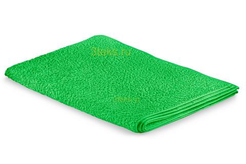 Простынь махровая (Зеленый)