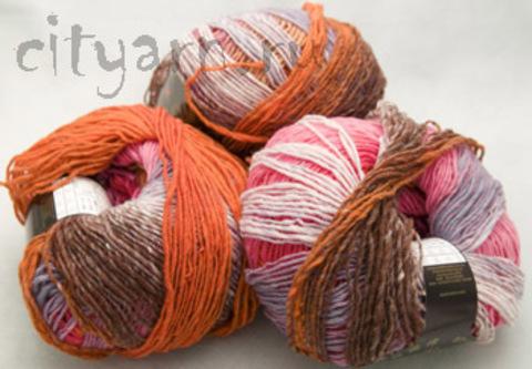 1011 / молочный, ярко-оранжевый, неяркий сиреневый, насыщенный розовый, коричневый, персиковый