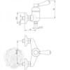 Смеситель для душа Migliore Ermitage ML.ERM-7038.BI схема