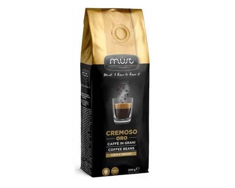 Кофе в зернах Must Cremoso Oro, 500 г