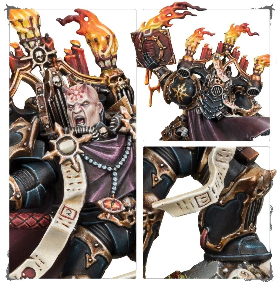 Chaos Space Marines Dark Apostle / Тёмный апостол