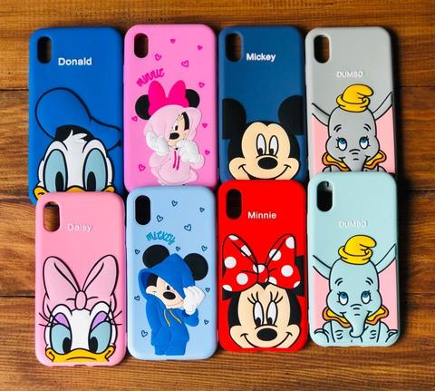 Чехол iPhone XS Max Disney Dumbo /gray/