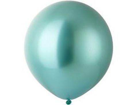 Большой шар Хром Зеленый