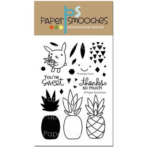 Набор силиконовых штампов  - Pineapple Crush