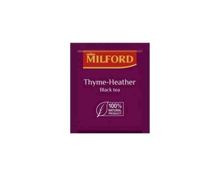 Чай черный в пакетиках Milford Чабрец, 20 пак/уп