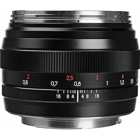 Объектив Carl Zeiss Planar T 50mm f/1.4 ZE Black для Canon