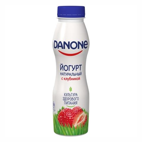 Йогурт питьевой DANONE 7 Клубника 270 г КАЗАХСТАН