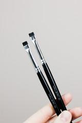 Кисть для бровей Valeri-D 8М-3Н1 Плоская