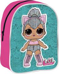 Рюкзак для девочки LOL c декоративными пайетками