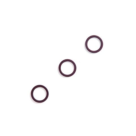 Кольцо для бретели сливовое вино 10 мм (металл) (цв. 076)