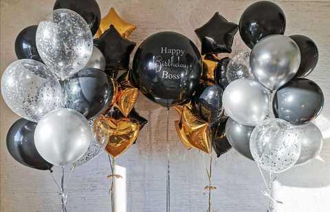 Воздушные шары для начальника