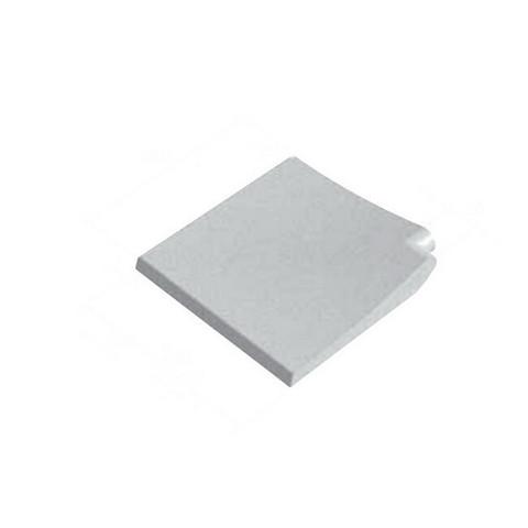 Прямой угловой копинговый камень Carobbio Standard гладкий, 390x390 мм (песочный) / 24414