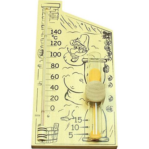 Термометр+песочные часы