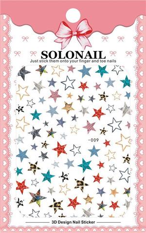 Наклейка силиконовая SOLO-9