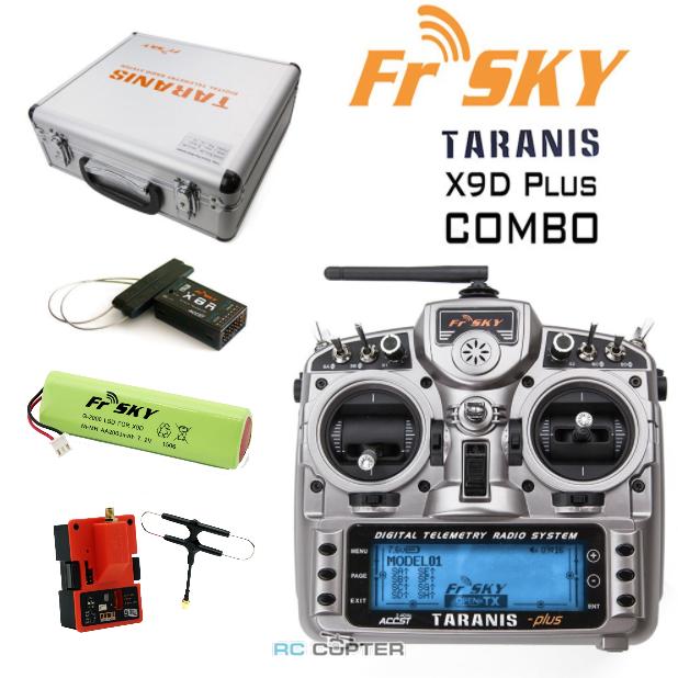 Аппаратура управления FrSky Taranis X9D Plus 2.4 ГГц 16 каналов + X8R + кейс + R9M