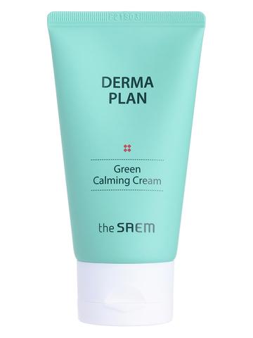 СМ Derma Plan Крем для лица успокаивающий Derma Plan Green Calming Cream 70мл