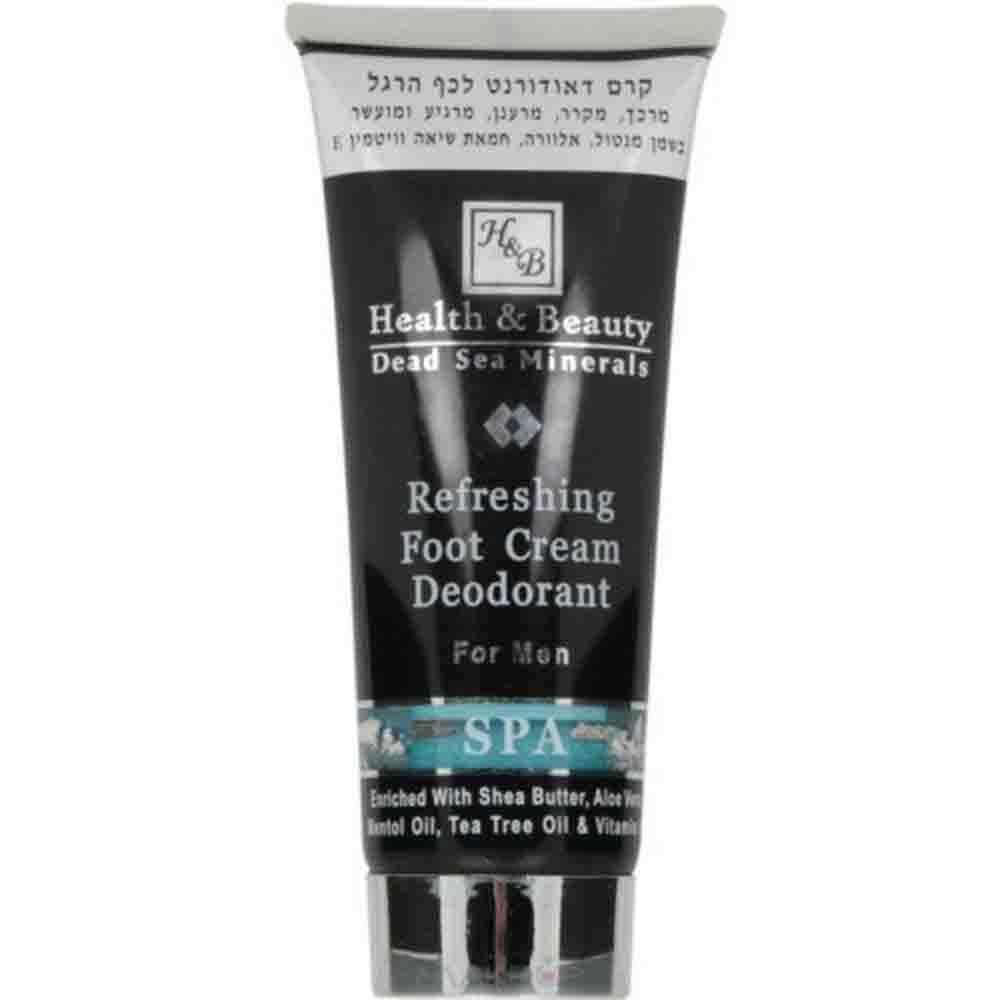 Крем-дезодорант для ног с охлаждающим эффектом для мужчин