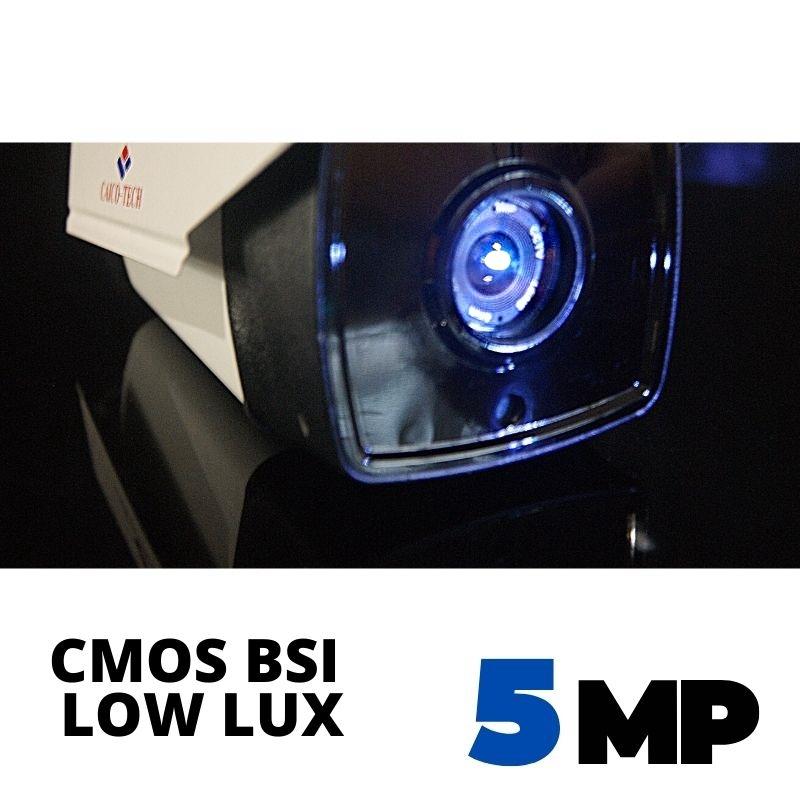 Уличная видеокамера наблюдения CAICO TECH QH-50WD Гибрид 5Mpix CMOS SONY IMX 335