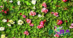 """Фотосетка """"Рада"""" для декора заборов """"Цветы"""" 158х250 см."""