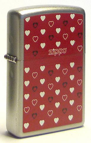 Зажигалка Zippo Hearts