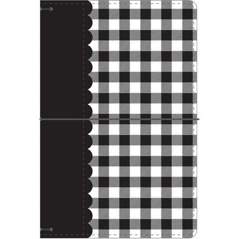 Блокнот (тревелбук) - Doodlebug Travel Planner - 14х23 см - Buffalo Check