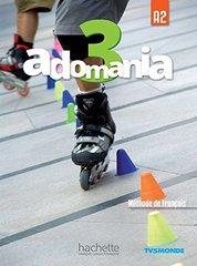 Adomania 3 Livre de l'eleve + DVD-ROM (audio et video)