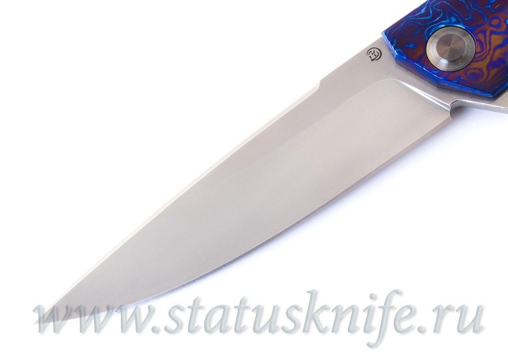 Нож Чебуркова 2020 Гудзон S90V Timascus - фотография