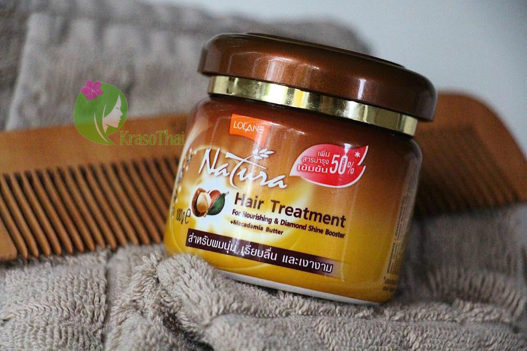 Маска для волос с маслом макадамии Питание и Бриллиантовый блеск LOLANE NATURA купить выгодно в Иркутске
