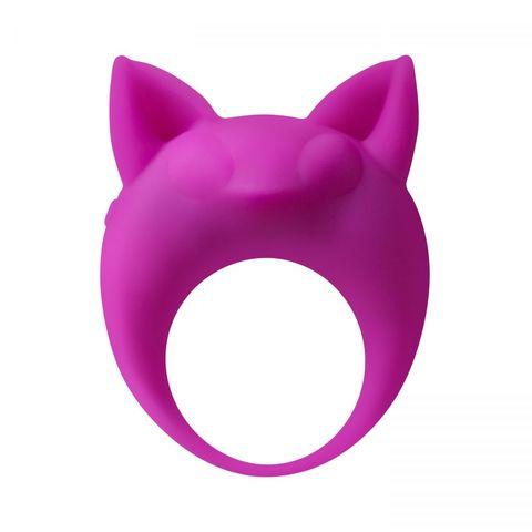 Фиолетовое эрекционное кольцо Lemur Remi