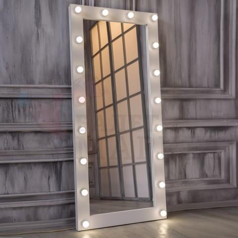 Гримерное зеркало 800мм*1800мм (18 ламп)
