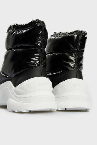 Женские черные ботинки Schutz