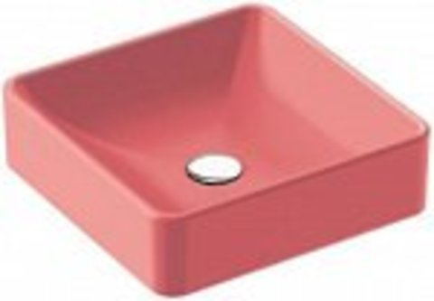 Накладная раковина Jacob Delafon VOX розовый шелк