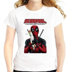 Марвел футболка Дэдпул с игрушкой Единорог
