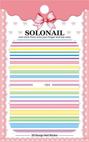 Наклейка силиконовая SOLO-5