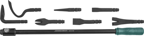 AG010180 Монтажная лопатка со сменными насадками в наборе, 8 предметов