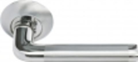 Ручка дверная MH-03 SN/CP