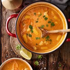 Тайский суп с пастой карри / 350 мл