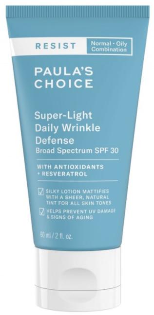 Paula's Choice RESIST Super-Light Daily Wrinkle Defense SPF 30 легкий крем против морщин 60мл