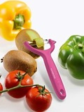 Нож для чистки томатов и киви VICTORINOX розовый (7.6079.5)