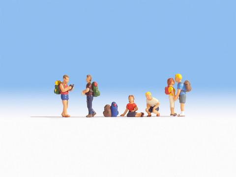Поход (6 фигур с предметами)