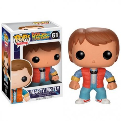 Фигурка Funko Pop Марти МакФлай - Назад в будущее (Marty McFly - Back to the future)