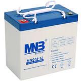 Аккумулятор MNB MNG 55-12 (12V 55Ah / 12В 55Ач) - фотография