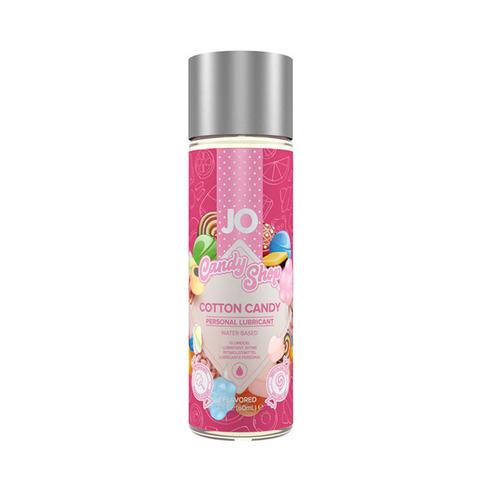 JO H2O Candy Shop Cotton Candy, 60 ml Вкусовой лубрикант Сахарная вата на водной основе